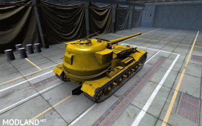 Pzkpfw VII shiny gold skin (made for SD client) 5 [1.2.0], 3 photo